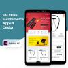 E-commerce Clean App UI Design -Studious31