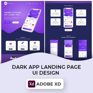 AppLandingPageDesignCover-Studious31