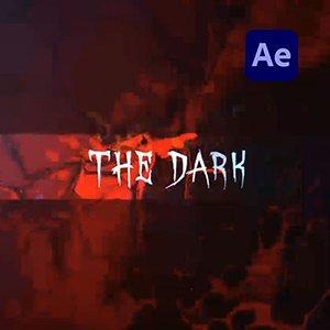 Glitch-Dark-Horror-Logo-Intro-Video-AETemplate-Cover-Studious31