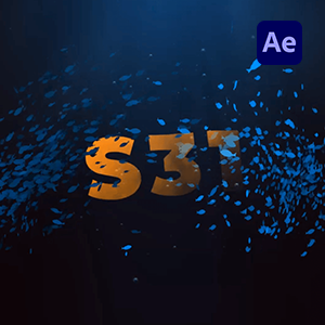 Underwater Fish Logo Intro After Effects Template-WebsiteCover- Studious31